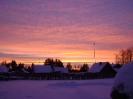 Небо :: Зимний закат