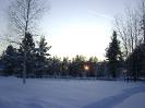 Русская зима :: Зимний вечер