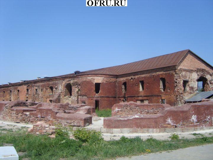 Все, что осталось после осады крепости