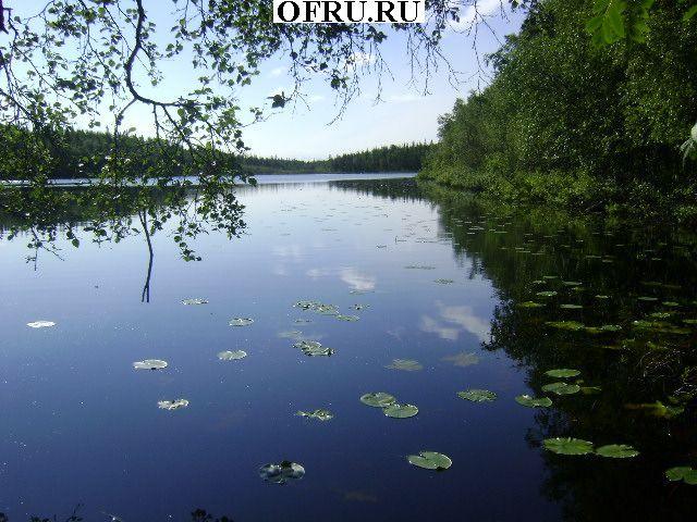одно из озёр острова Анзер
